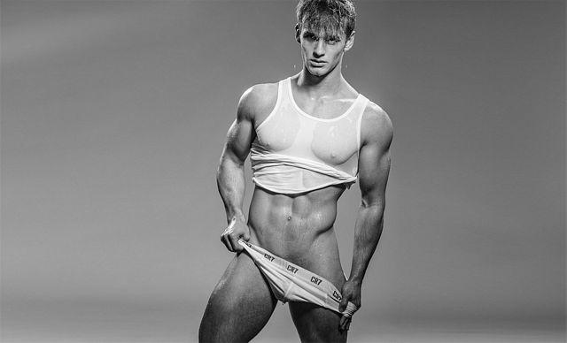 Simon By Paul van der Linde  – Men In Underwear | Daily Dudes @ Dude Dump