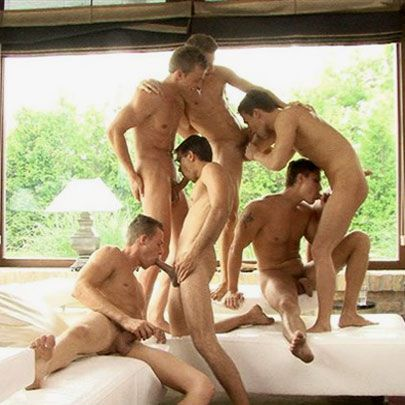 Six beautiful Hungarians in an orgy | Daily Dudes @ Dude Dump
