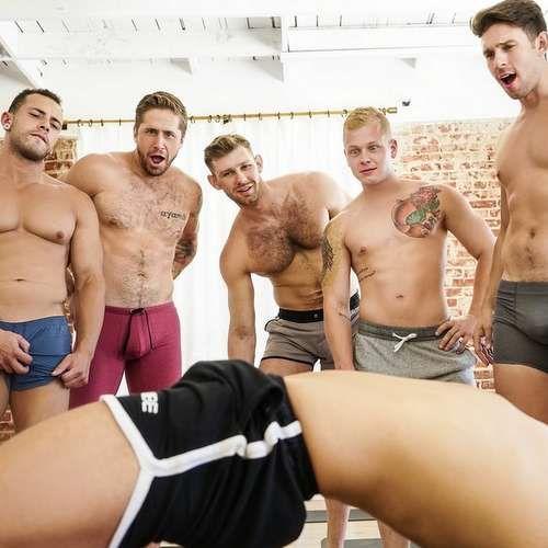 "Six Hot Men Orgy in ""Yoga"" at MENDOTCOM | Daily Dudes @ Dude Dump"