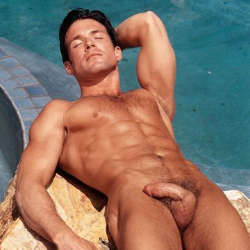Skinny dipping hunk Randy Savino | Male-Erotika.co | Daily Dudes @ Dude Dump