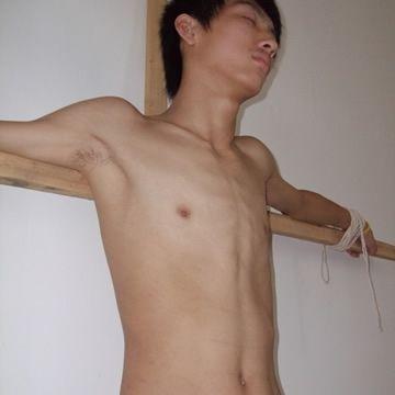 Slim Straight Boy Bound Cum | Daily Dudes @ Dude Dump