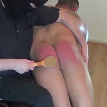 Spanked With Bath Brush | Daily Dudes @ Dude Dump