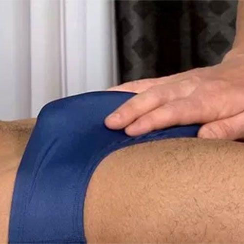 Speedo Massage | Daily Dudes @ Dude Dump