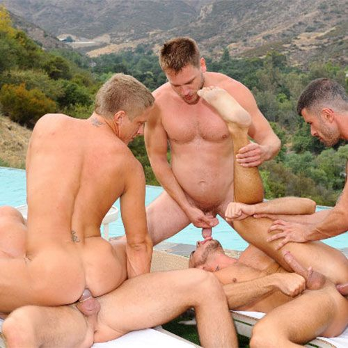 Speedo Orgy Movie | Daily Dudes @ Dude Dump