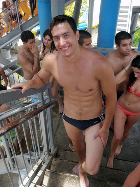 Speedos at a Waterpark | Daily Dudes @ Dude Dump