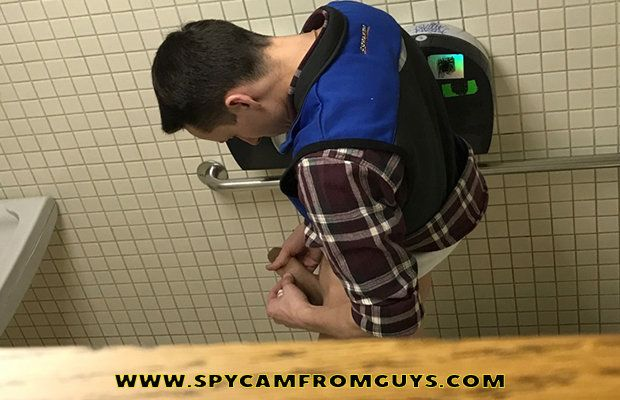 Spying on guys in the toilet with 3 hidden cameras | Daily Dudes @ Dude Dump
