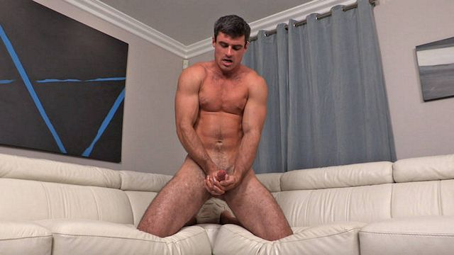 Squirting two big loads with staight jock Daniel | Daily Dudes @ Dude Dump