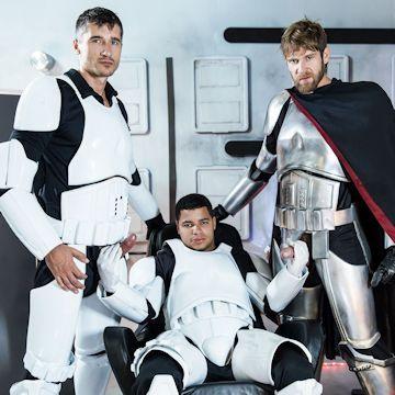 Star Wars XXX — Finn gets fucked | Daily Dudes @ Dude Dump