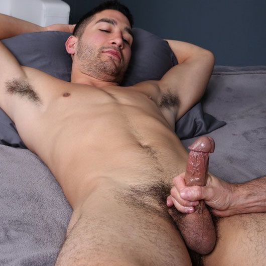 Stefan gets serviced by a dude | Daily Dudes @ Dude Dump