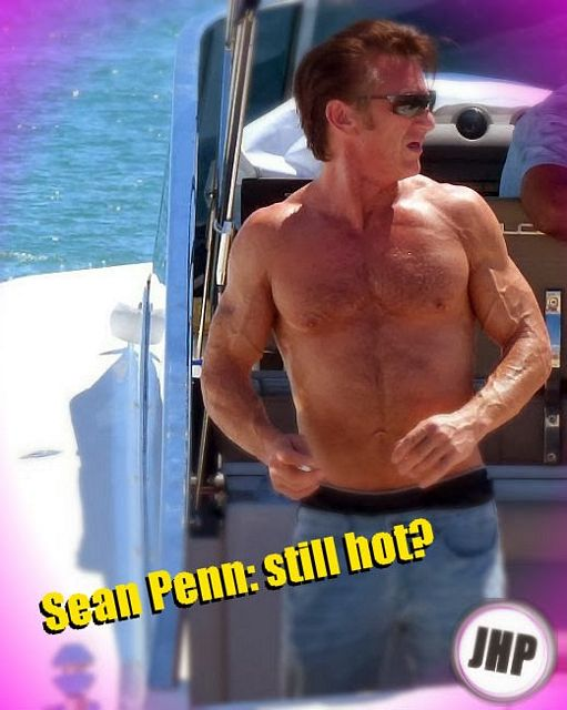 Still hot: Sean Penn | Daily Dudes @ Dude Dump