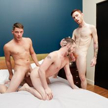 Str8 Trick – Gay PD Fucking with a trio of hotties | Daily Dudes @ Dude Dump
