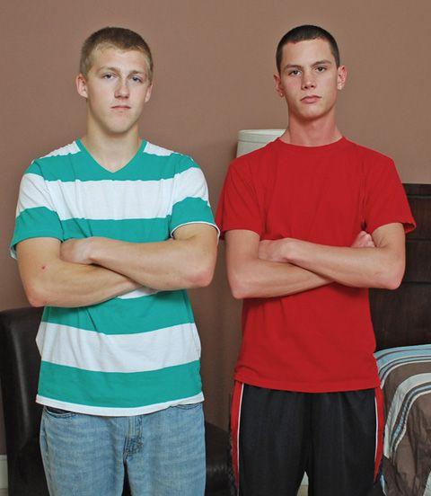 Straight Adam & Carter Give Plea | Daily Dudes @ Dude Dump