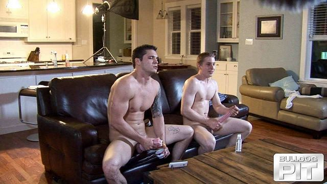Straight friends jerking off together | Daily Dudes @ Dude Dump
