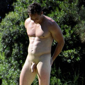 Straight guy caught naked in a park | Daily Dudes @ Dude Dump