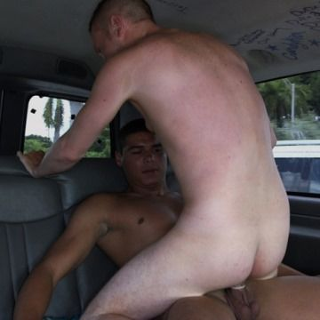 Straight Latino Stud Fucks White Man Ass | Daily Dudes @ Dude Dump