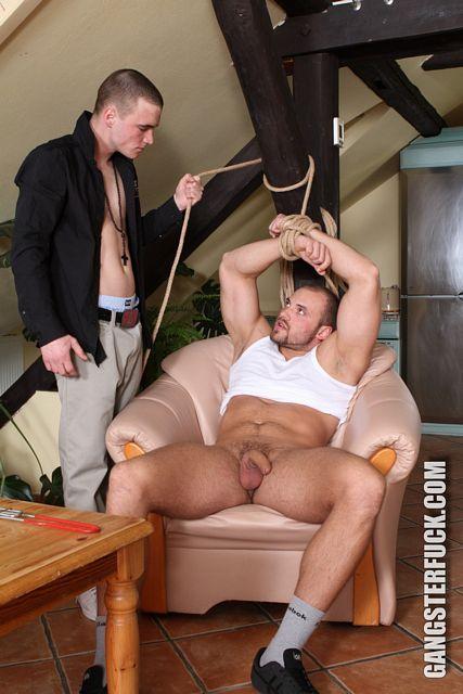 Sven dominates masculine escort Tomm Black | Daily Dudes @ Dude Dump
