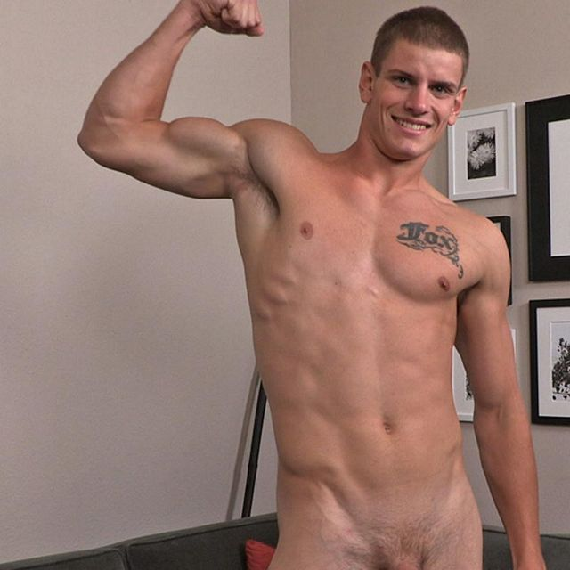 Tall, Lean Nate Jerks off | Daily Dudes @ Dude Dump