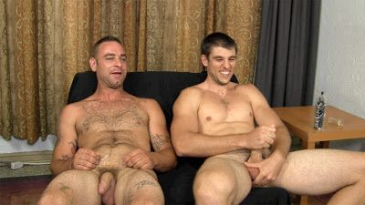 Teddy and Aiden jack off | Daily Dudes @ Dude Dump