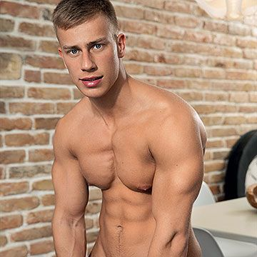 Teen Muscle Stud Glenn | Daily Dudes @ Dude Dump