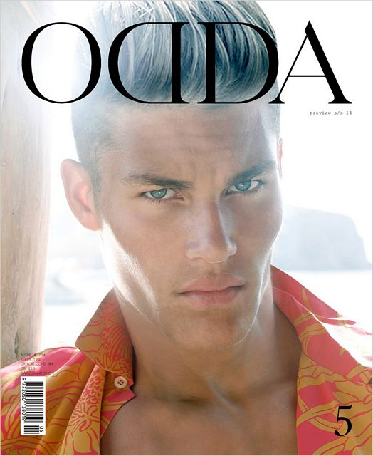 THE HANDSOME TYLER MAHER FOR ODDA BY JUAN MARTIN | Daily Dudes @ Dude Dump