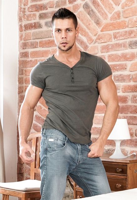 The Hitchhiker: Angelo bust a nut in exchange for | Daily Dudes @ Dude Dump