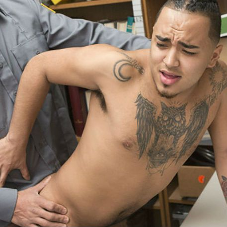 The officer sees a chance to teach him a lesson | Daily Dudes @ Dude Dump