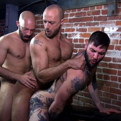 Three Horny Guys Fuck Raw | Daily Dudes @ Dude Dump
