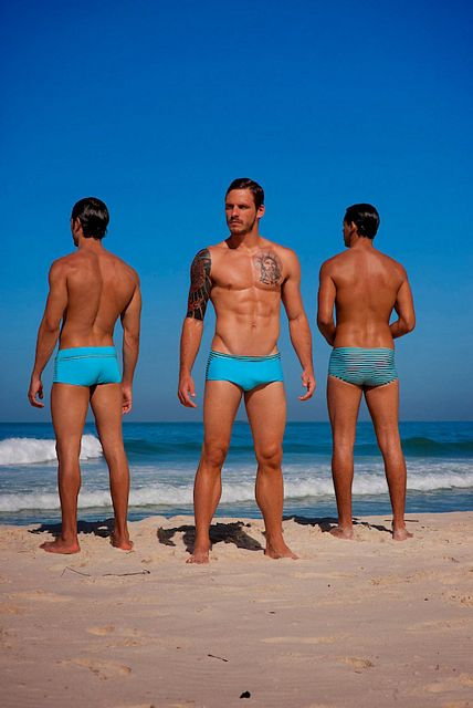 Three Hot Hunks For RA Trendwear | Daily Dudes @ Dude Dump