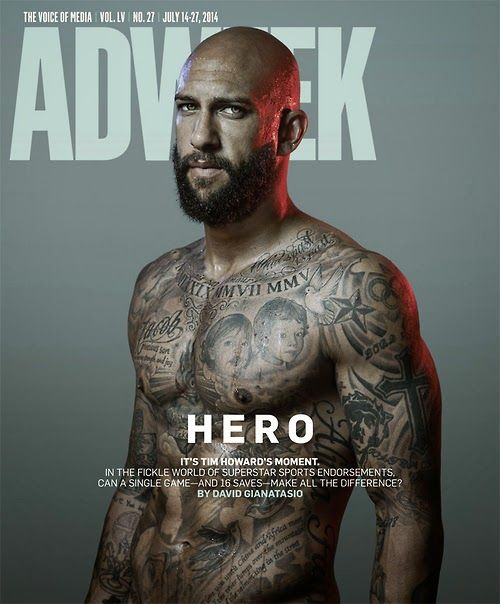 Tim Howard for Adweek | Daily Dudes @ Dude Dump