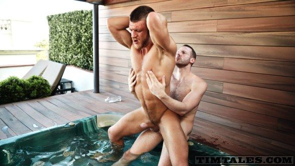Tim Kruger Fucks Caleb King Hard for TIM TALES | Daily Dudes @ Dude Dump