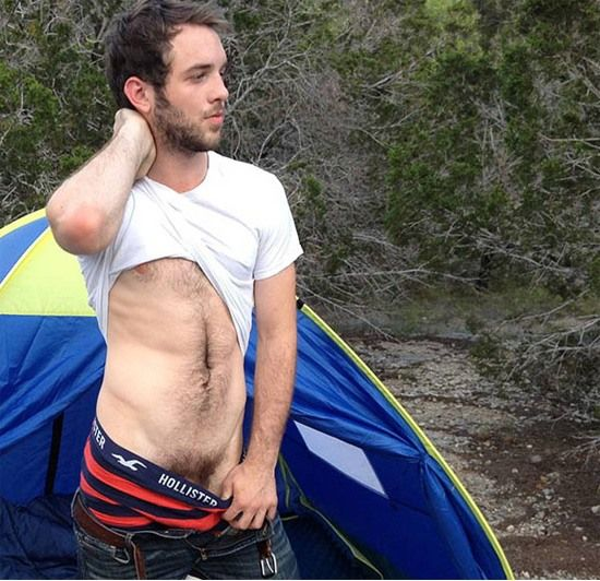 Toby Has A Cum Drenched Camping Trip | Daily Dudes @ Dude Dump