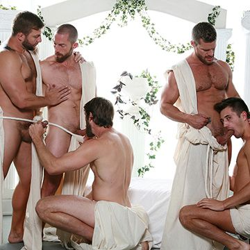 Toga Party Orgy | Daily Dudes @ Dude Dump