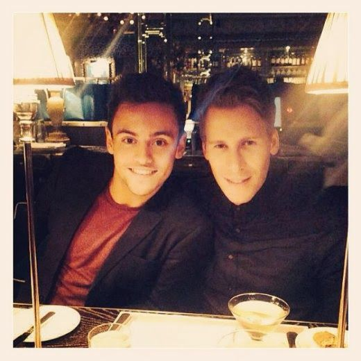 Tom Daley and Dustin Lance Black | Daily Dudes @ Dude Dump
