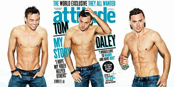 TOM DALEY for ATTITUDE | Daily Dudes @ Dude Dump