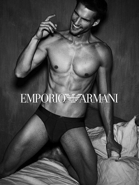 Tomas Skoloudik For Emporio Armani Underwear | Daily Dudes @ Dude Dump