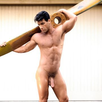 Tony Ganz — It's his cross to bear | Daily Dudes @ Dude Dump