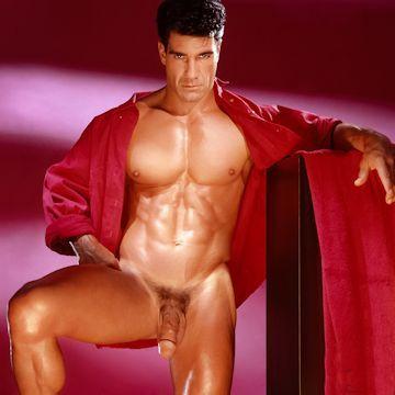Tony Ganz — Romantic in red | Flesh 'n' Boners | Daily Dudes @ Dude Dump