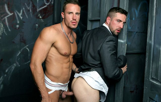 Tony Gys fucks Scott Hunter | Daily Dudes @ Dude Dump