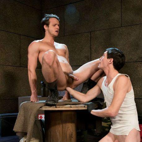 "Tony Orlando & Nate Grimes in ""Arm-ageddon"" | Daily Dudes @ Dude Dump"