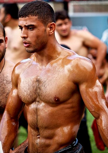 Turkish Oil Wrestling – the gay sport! | Daily Dudes @ Dude Dump