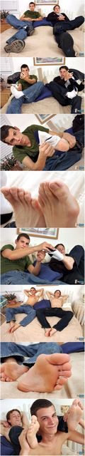 Twinks Have Some Foot Fun | Daily Dudes @ Dude Dump