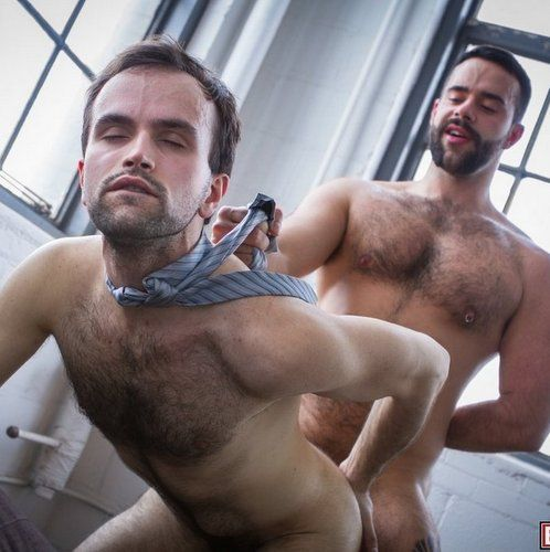 Two Furry Chested Nasty Fuckers at BUTCH DIXON | Daily Dudes @ Dude Dump