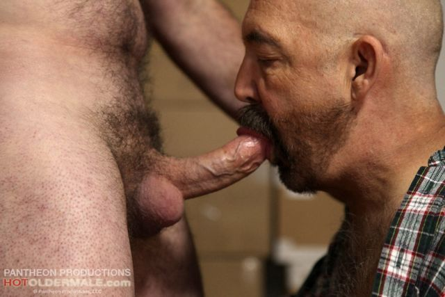 Two perverted mature gay men in wonderful pounding | Daily Dudes @ Dude Dump