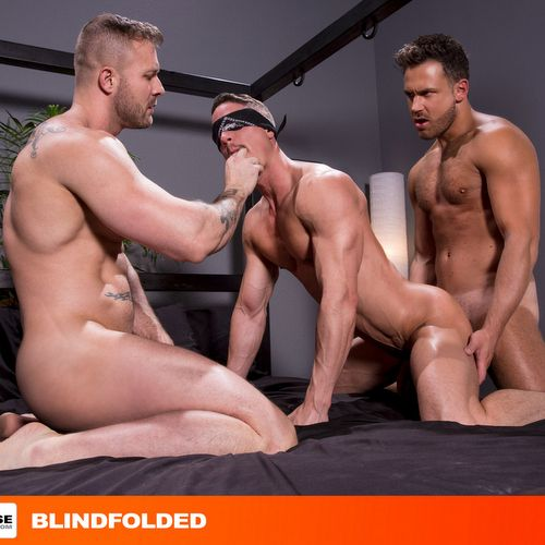 Two Sexy Hunks Fuck Blindfolded Bottom | Daily Dudes @ Dude Dump