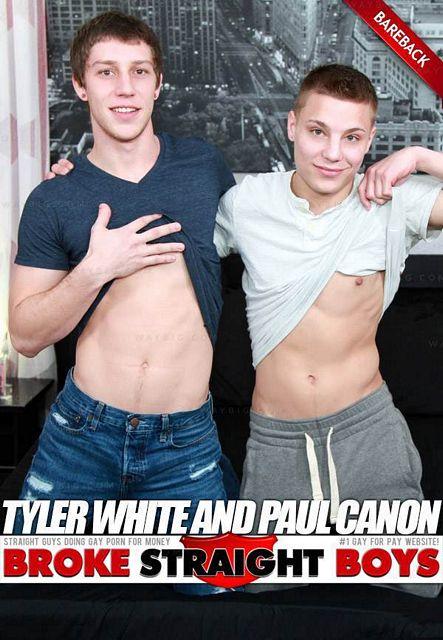 Tyler White & Paul Canon (Bareback Flip-Fuck) | Daily Dudes @ Dude Dump