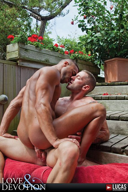 Tyler Wolf Fucks Micah Brandt in Love and Devotion | Daily Dudes @ Dude Dump