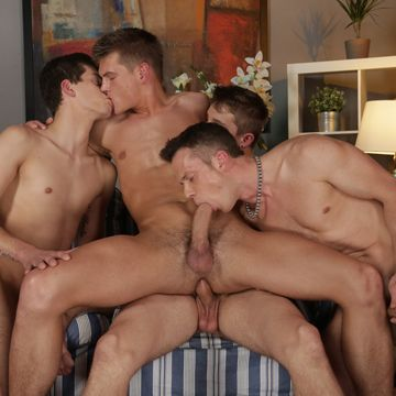 Uncut Cock Fourgy Video With Johan Volny | Daily Dudes @ Dude Dump
