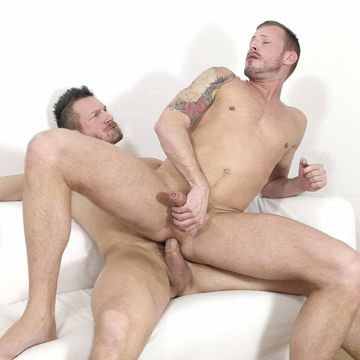 Uncut muscle daddies Logan Rogue and Tomas Brand | Daily Dudes @ Dude Dump