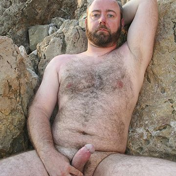 Uncut Spanish Bear Man | Daily Dudes @ Dude Dump