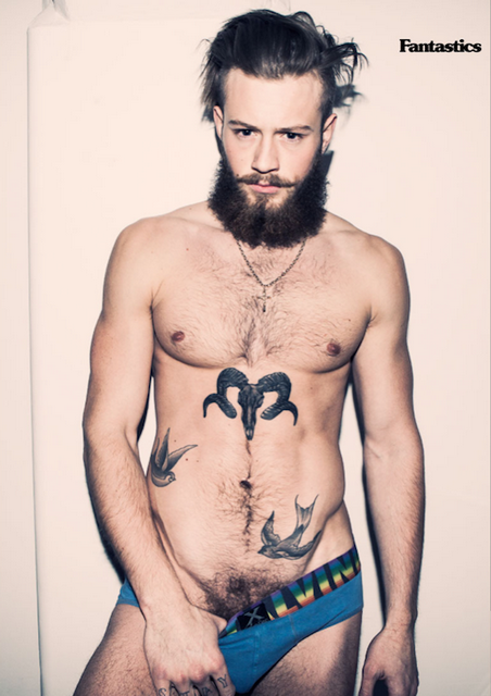 Unusually Sexy British Hunk Declan-John Geraghty | Daily Dudes @ Dude Dump